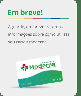 Cartão Drogaria Moderna